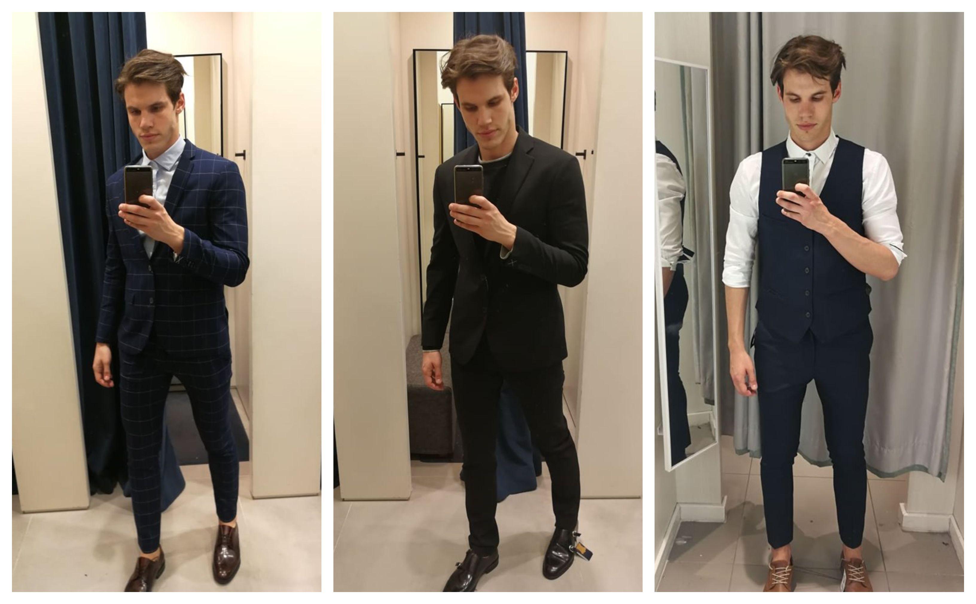 Potražili smo muška odijela za vjenčanje: Teško je pronaći veličine, nogavice su prekratke...