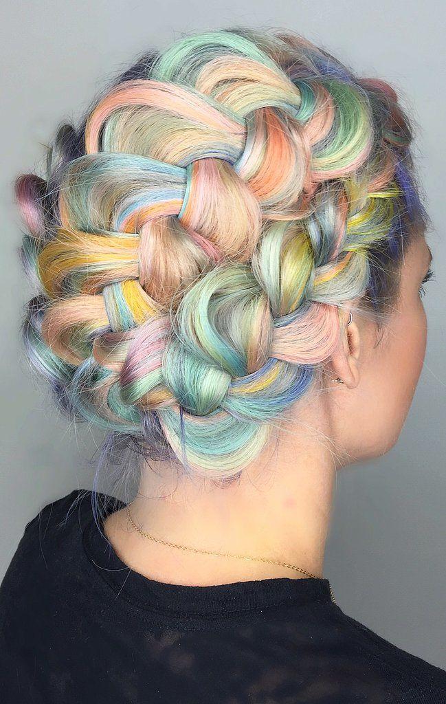 """Kosa u bojama """"macaronsa"""""""
