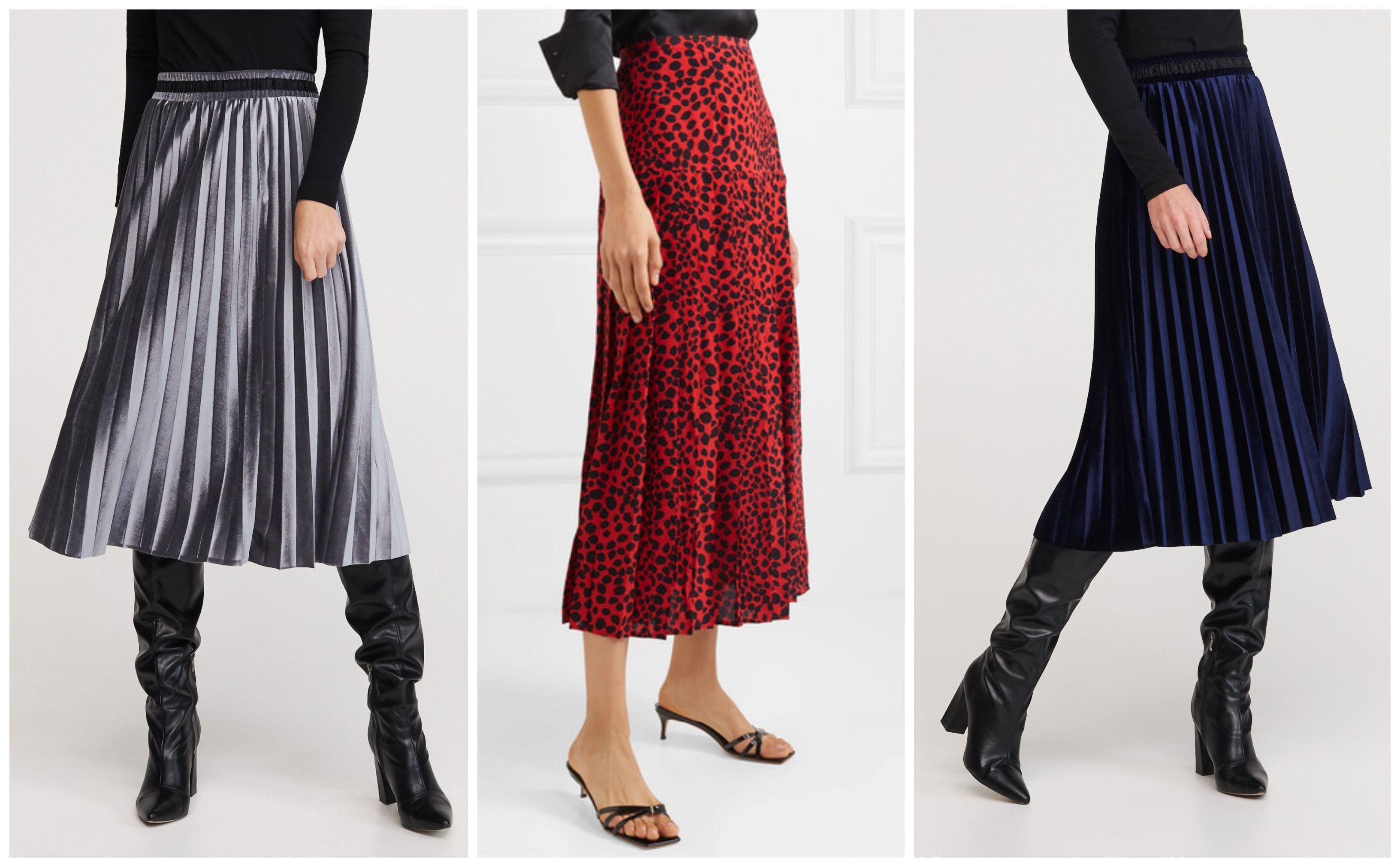 Plisirane suknje nikad nisu izgledale bolje! Donosimo vam najljepše iz ponude