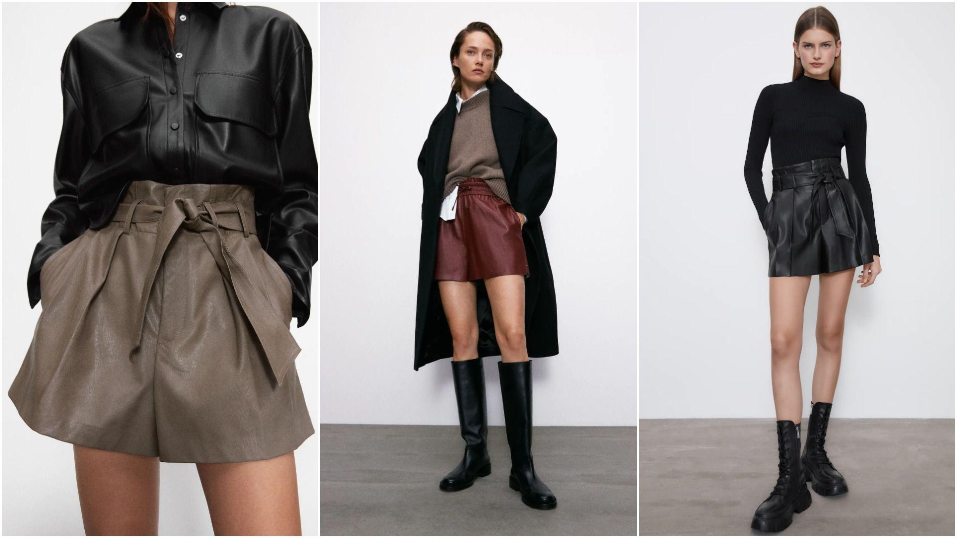 Umjesto suknje, odaberite kratke hlače! U Zari smo pronašli modele od 149,90 kn koji izgledaju genijalno uz čizme