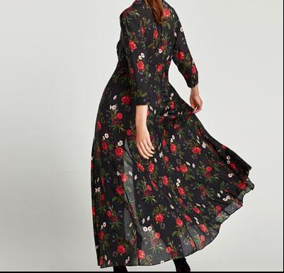 Ako kupujete samo jedan komad ove jeseni, neka to bude lepršava cvjetna haljina