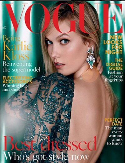 Karlie Kloss na naslovnici Voguea