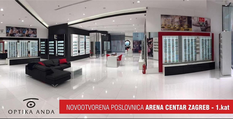 Novootvorena Optika Anda s najvećom ponudom naočala u Hrvatskoj