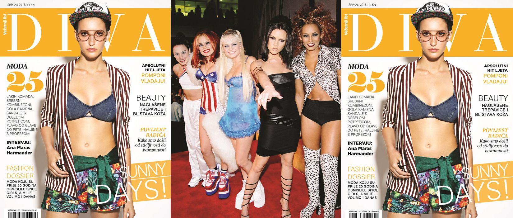 Nova Diva: Moda Spice Girls!