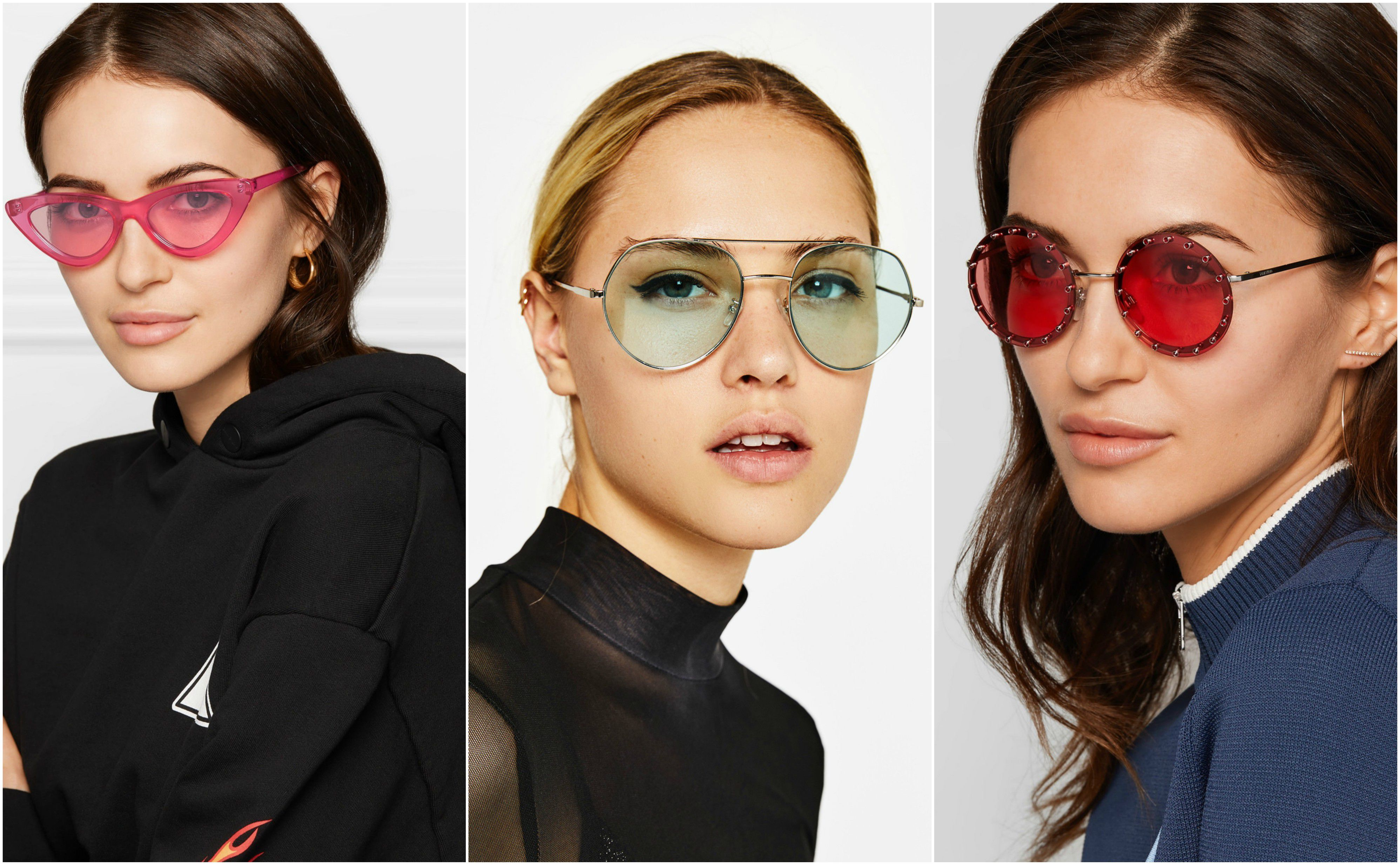 Za ovu sezonu važno je da naočale imaju prozirna stakla u boji