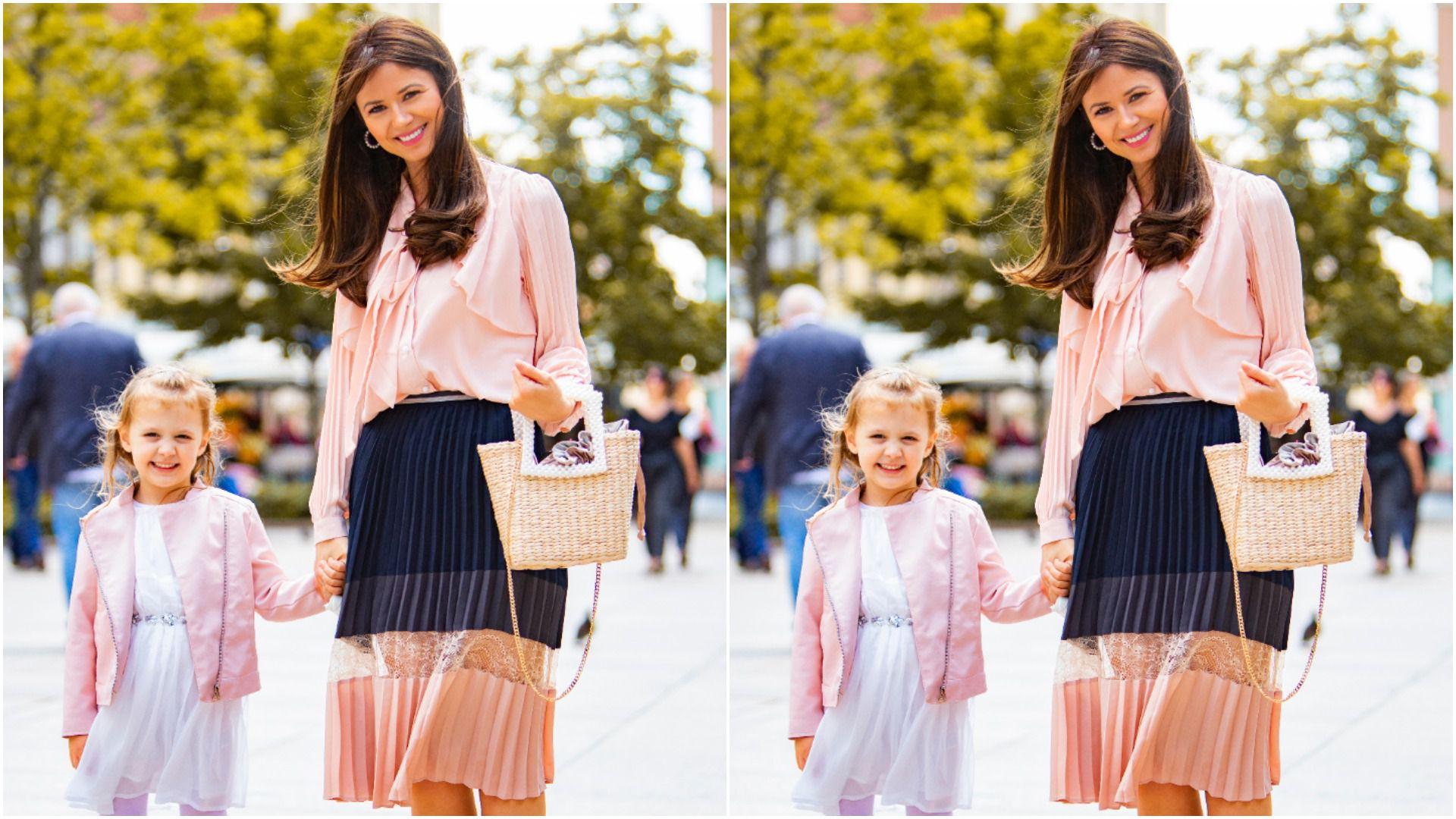 Prekrasne mama i kći: 'Prvo se ja odjenem  pa Lucija poželi odjenuti nešto slično po uzoru na mamu'