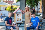 Knjižničarka i učenici iz Labina osmislili genijalan Re-book projekt: Kućica-knjižnica oduševljava i domaće i turiste