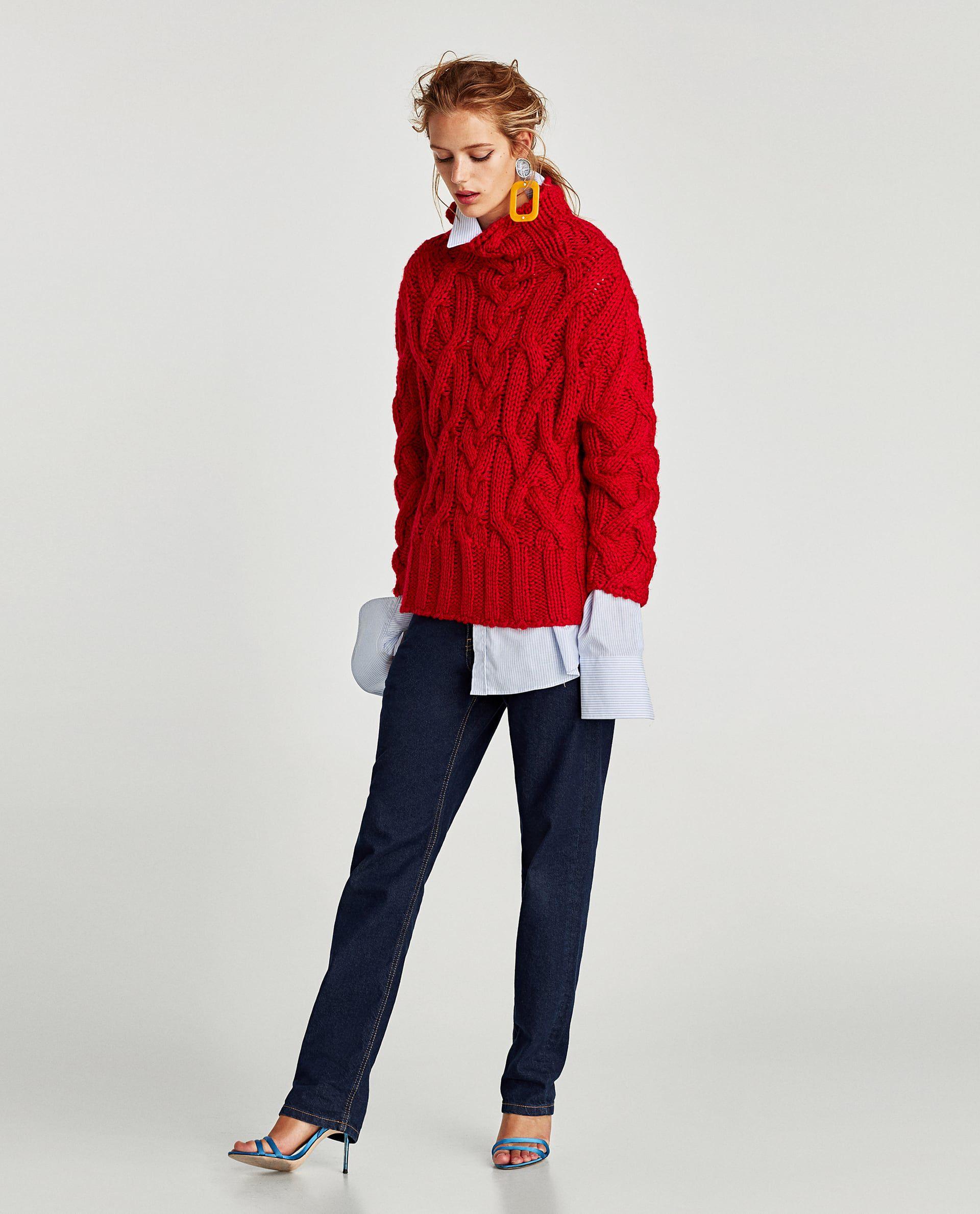 Crveni džemper je sve što vam treba ove sezone