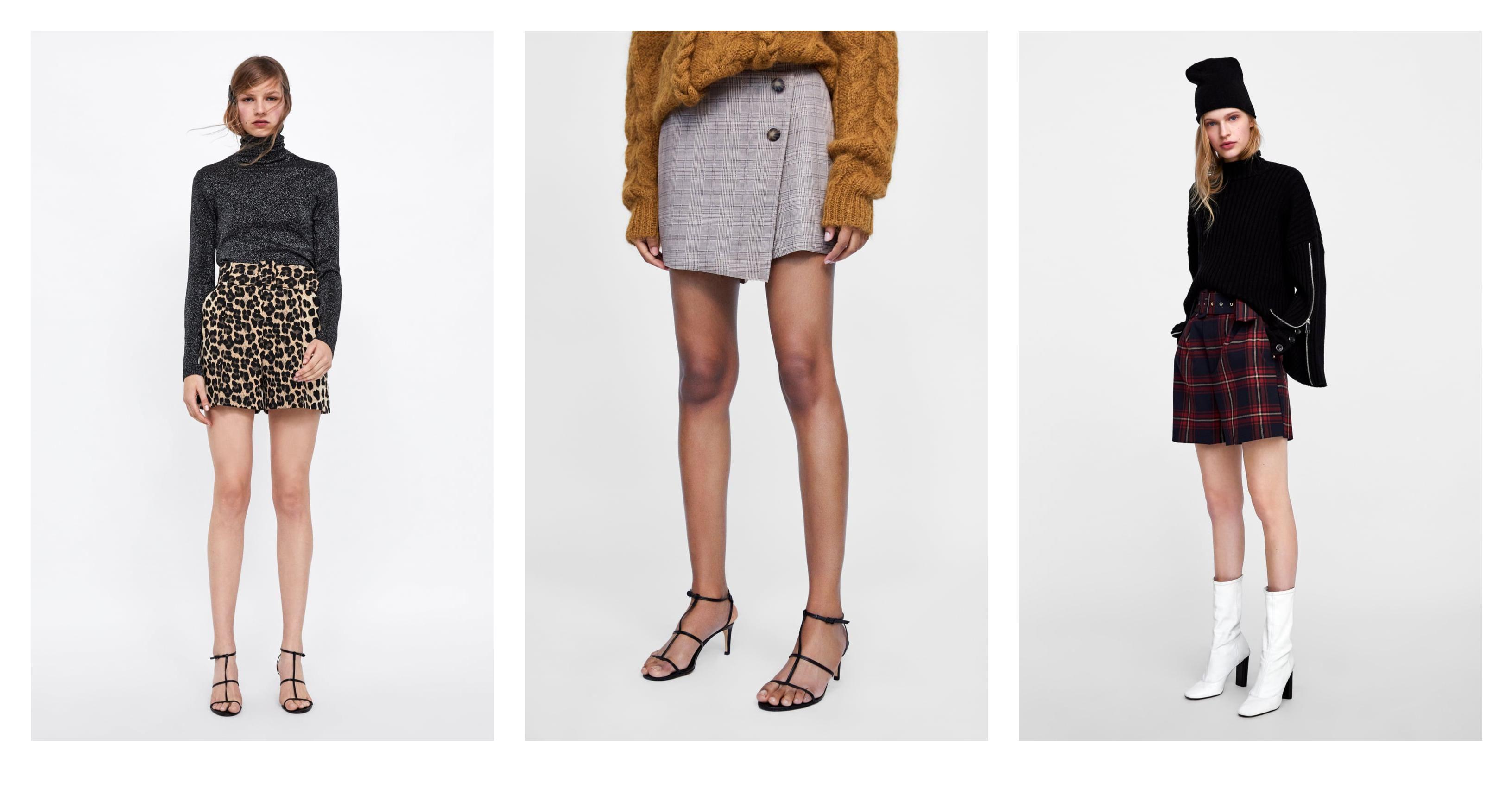 Tko kaže da su kratke hlačice rezervirane samo za ljeto? Pronašli smo genijalne zimske modele u Zari