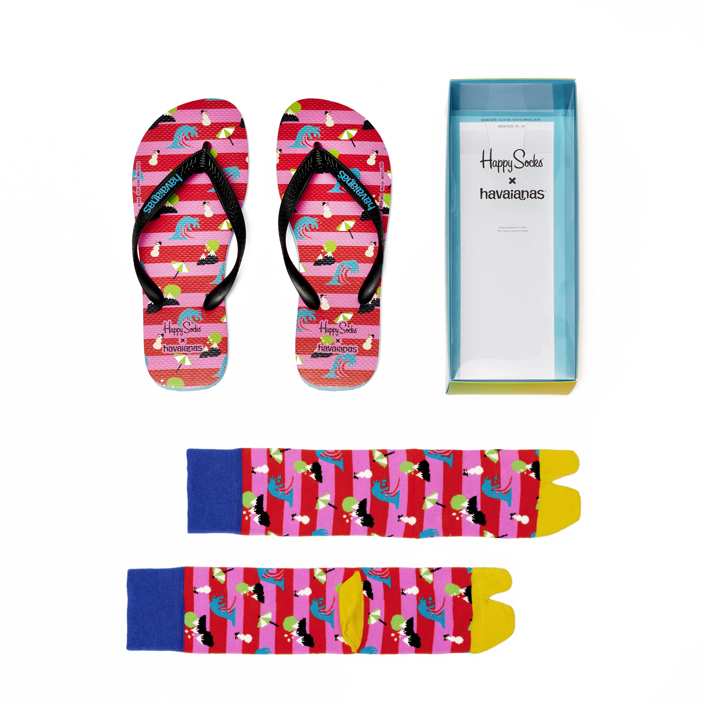 Havaianas i Happy socks – dva najšarenija brenda potvrdila su da se suprotnosti privlače