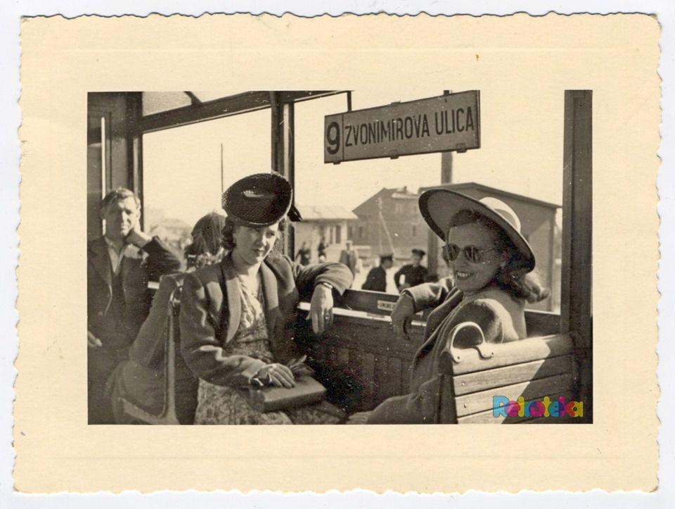 Oduševila nas je fotografija ove dvije dame u tramvaju iz 1944. godine