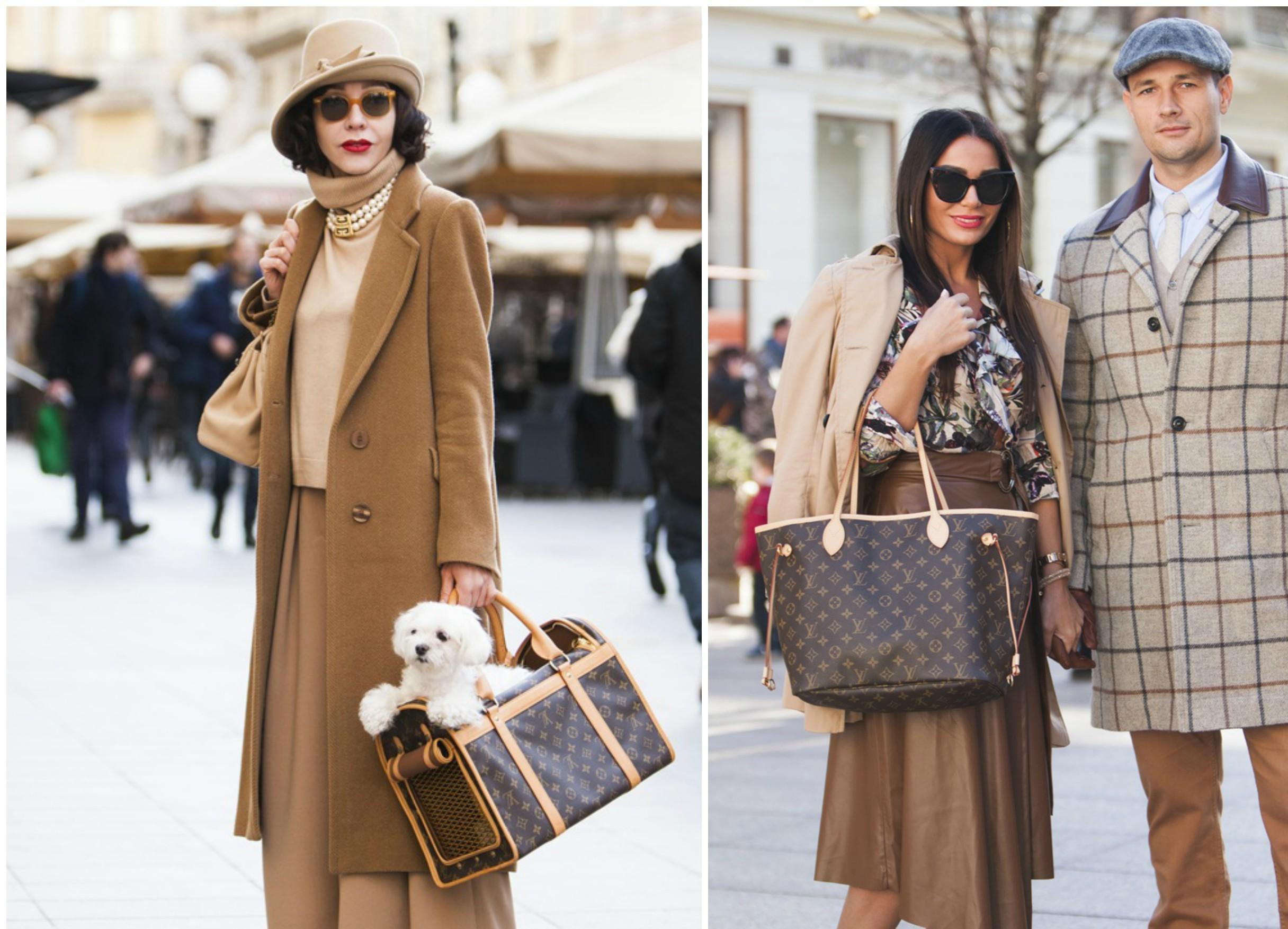 Logomanija se vratila: Pogledajte kako trend furaju dame na zagrebačkim ulicama