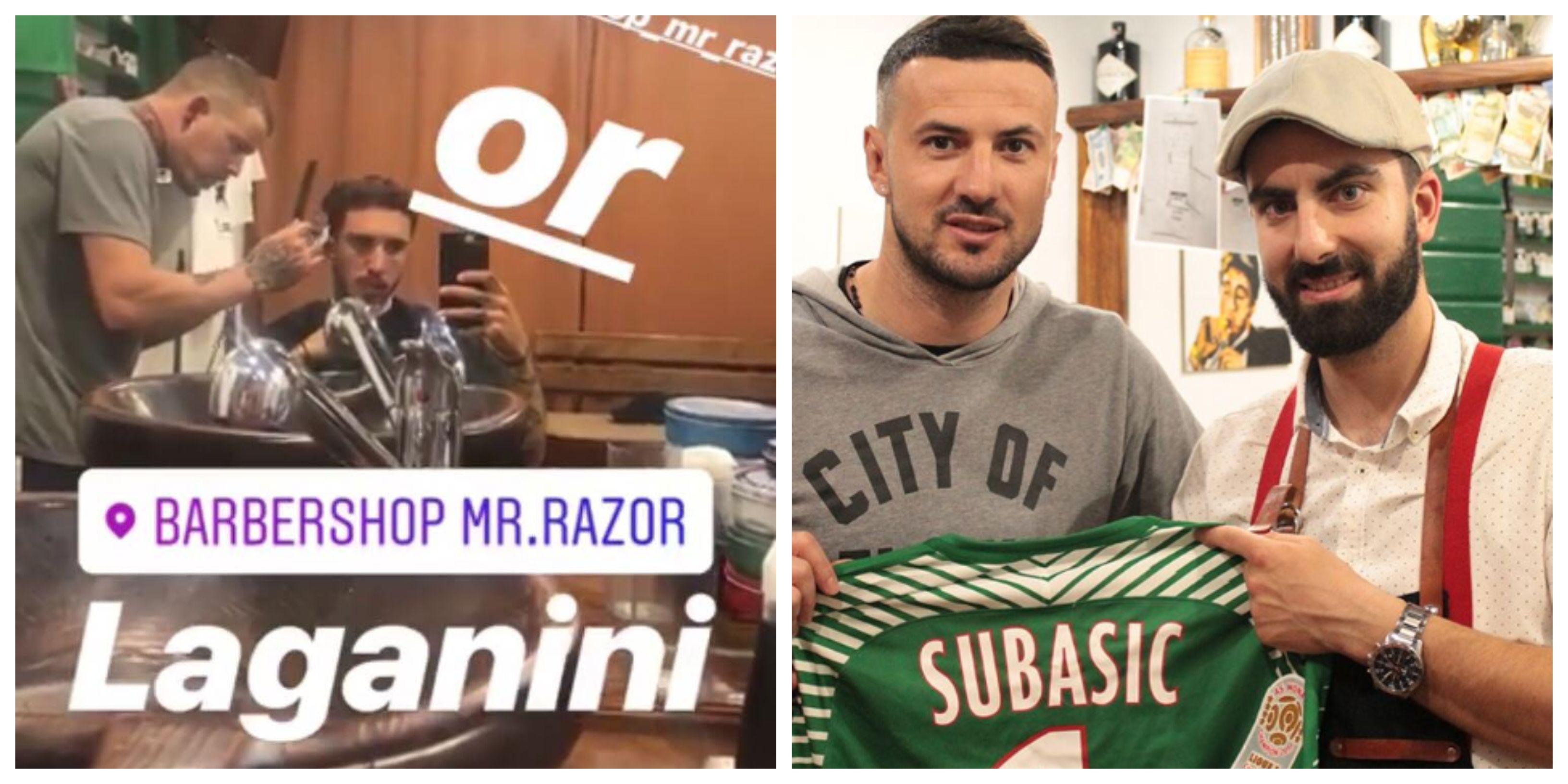 Kod barbera Ivana brade i frizure uređuju Subašić, Vrsaljko, Borna Ćorić i drugi sportaši