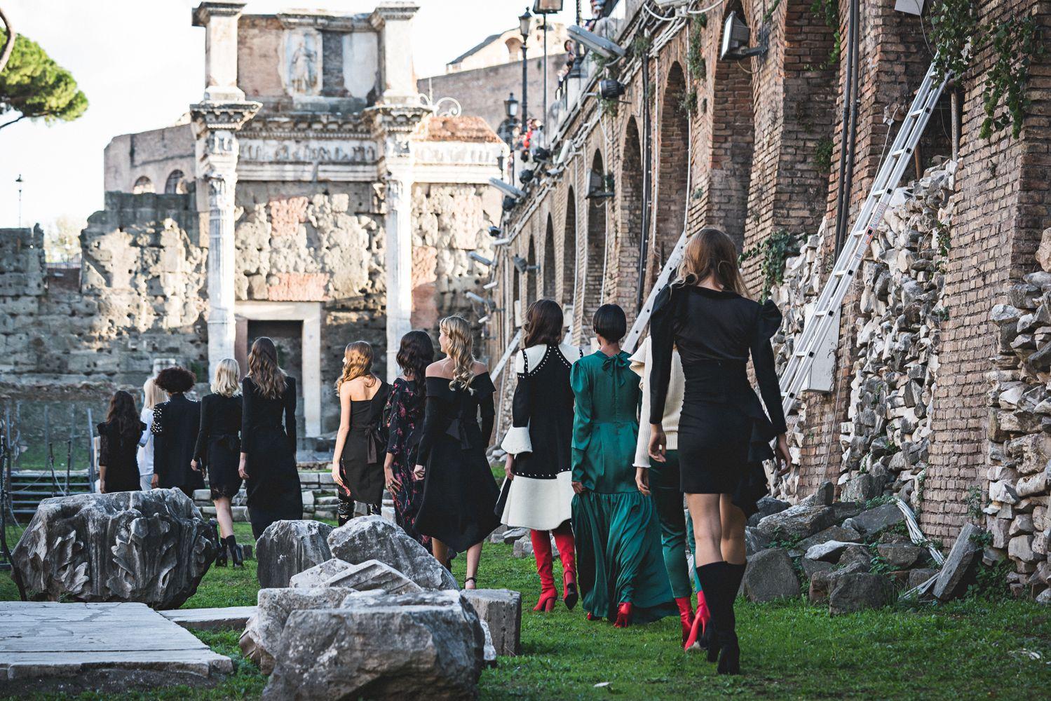 Kristina Burja održala još jednu reviju u Rimu