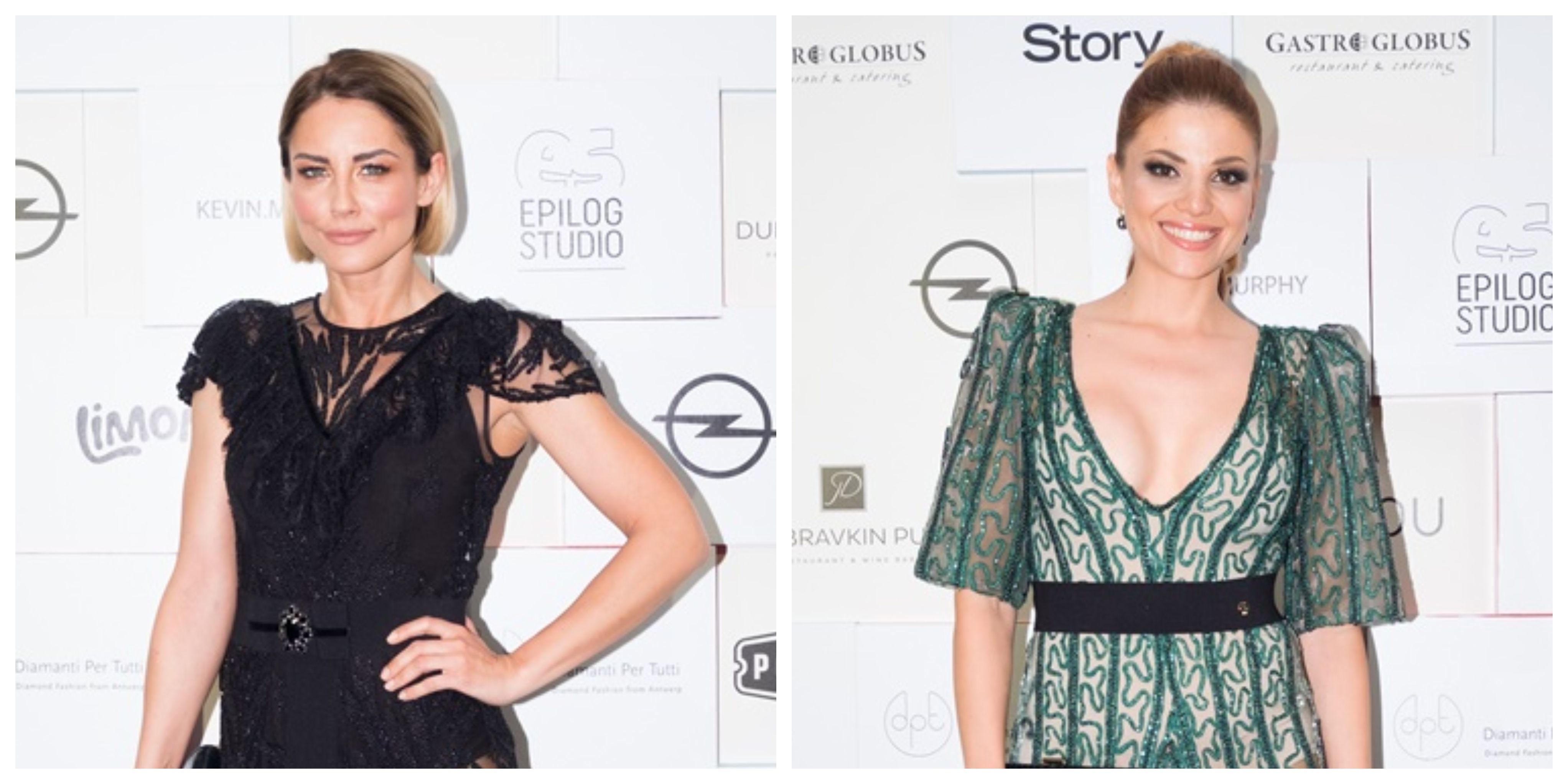 Antonija Stupar Jurkin i Lejla Filipović u hrabrim haljinama koje otkrivaju baš sve