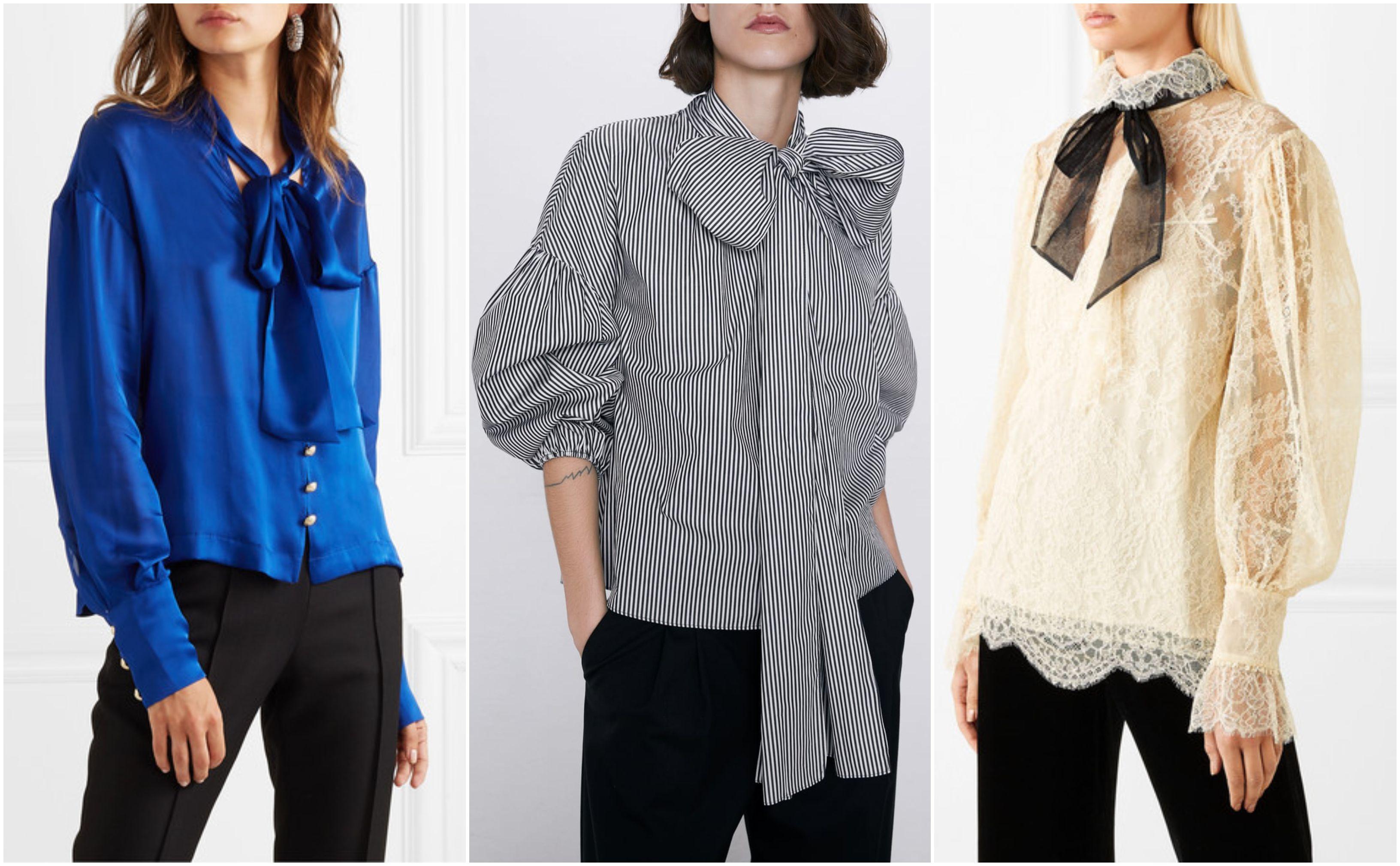 Bluze s mašnom podići će baš svaku kombinaciju! Pogledajte 15 predivnih modela koje skriva high street ponuda
