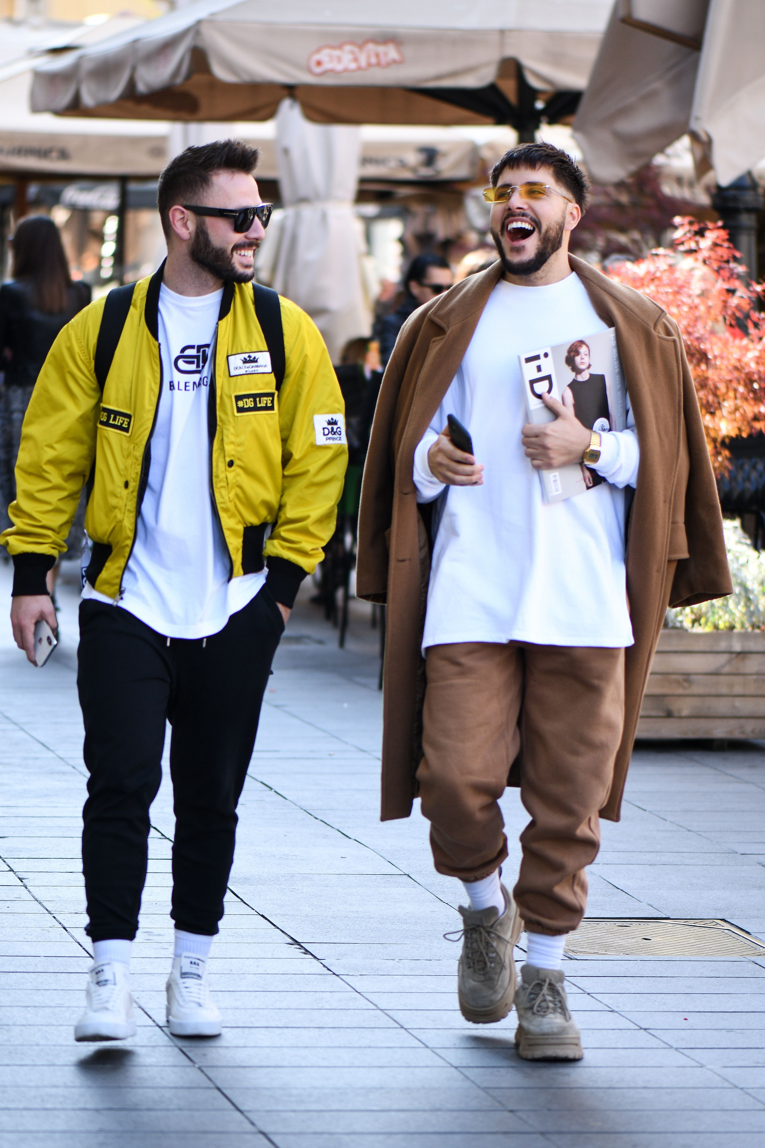 Kakav stylish dvojac: Ova dva frajera sa špice nisu mogla proći nezamijećeno