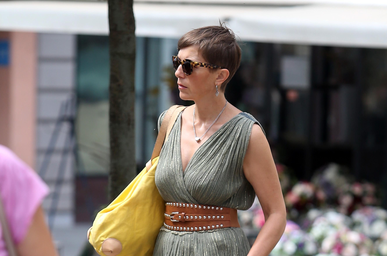 Njena svjetlucava haljina bila je najljepša tog dana na zagrebačkoj špici