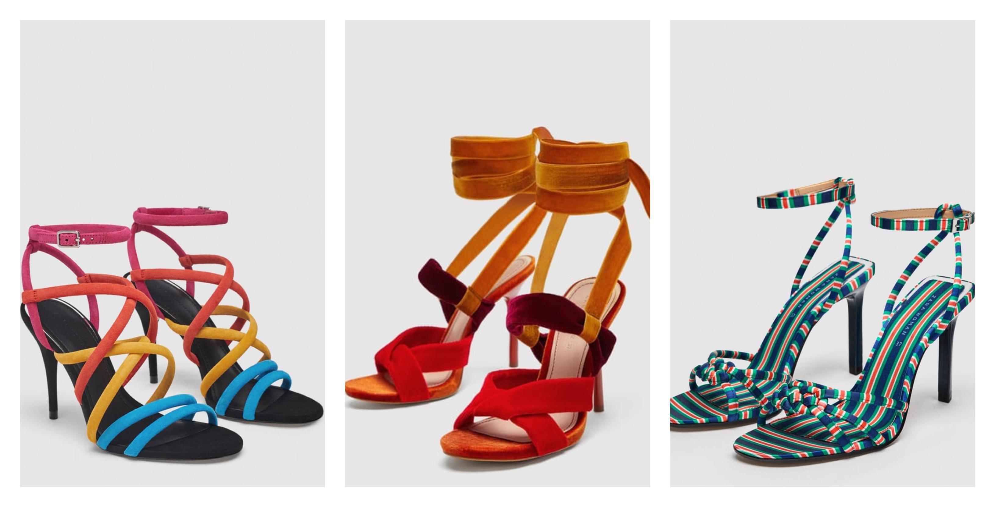 Kombinacije jarkih boja nose se na sandalama i tenisicama: Izvukli smo najljepše modele!