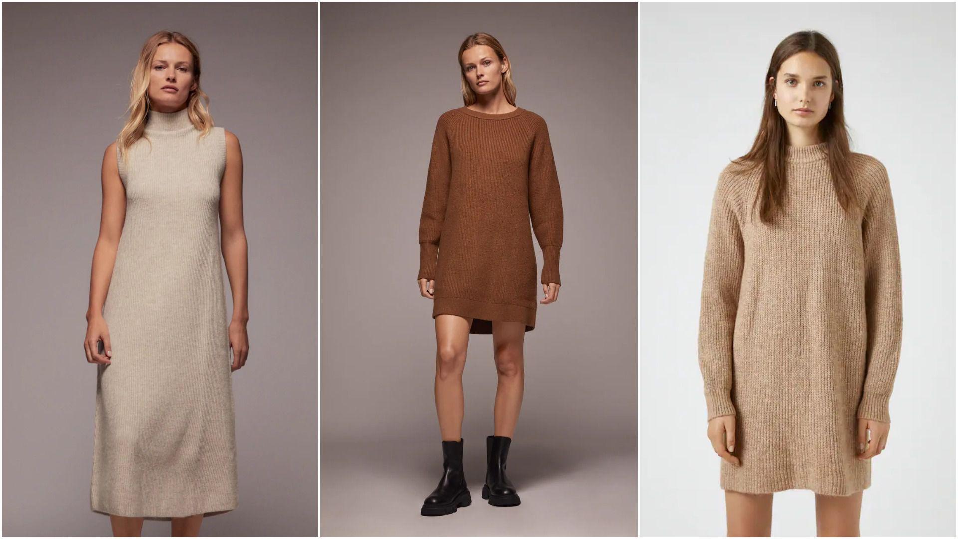 Pletena haljina najpopularniji je model kojeg možete odabrati za ovu jesen; izabrali smo najbolje od 149,90 kn