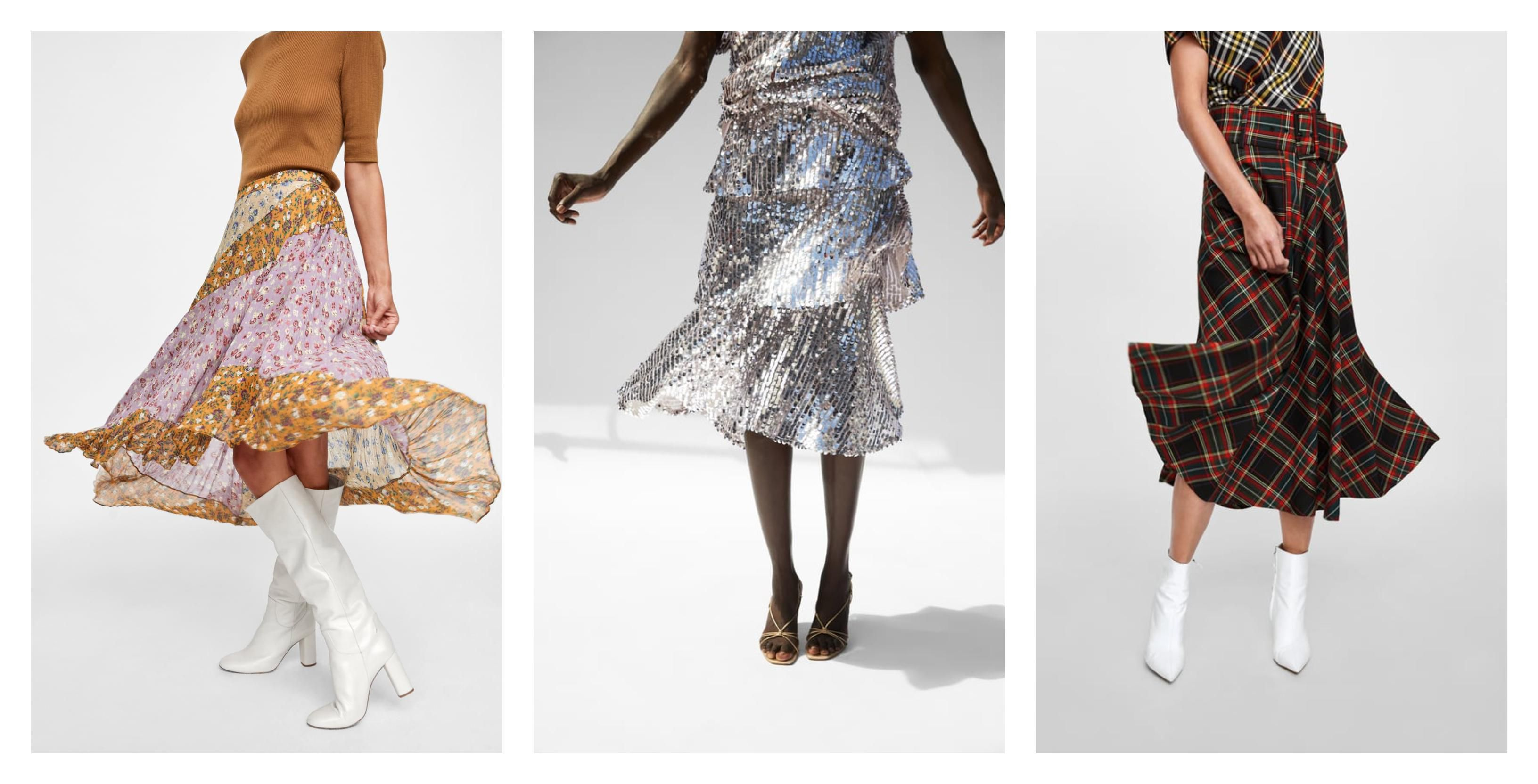 Midi suknje nosit će se i u nadolazećoj sezoni, a uzorci na njima luđi su nego ikad!