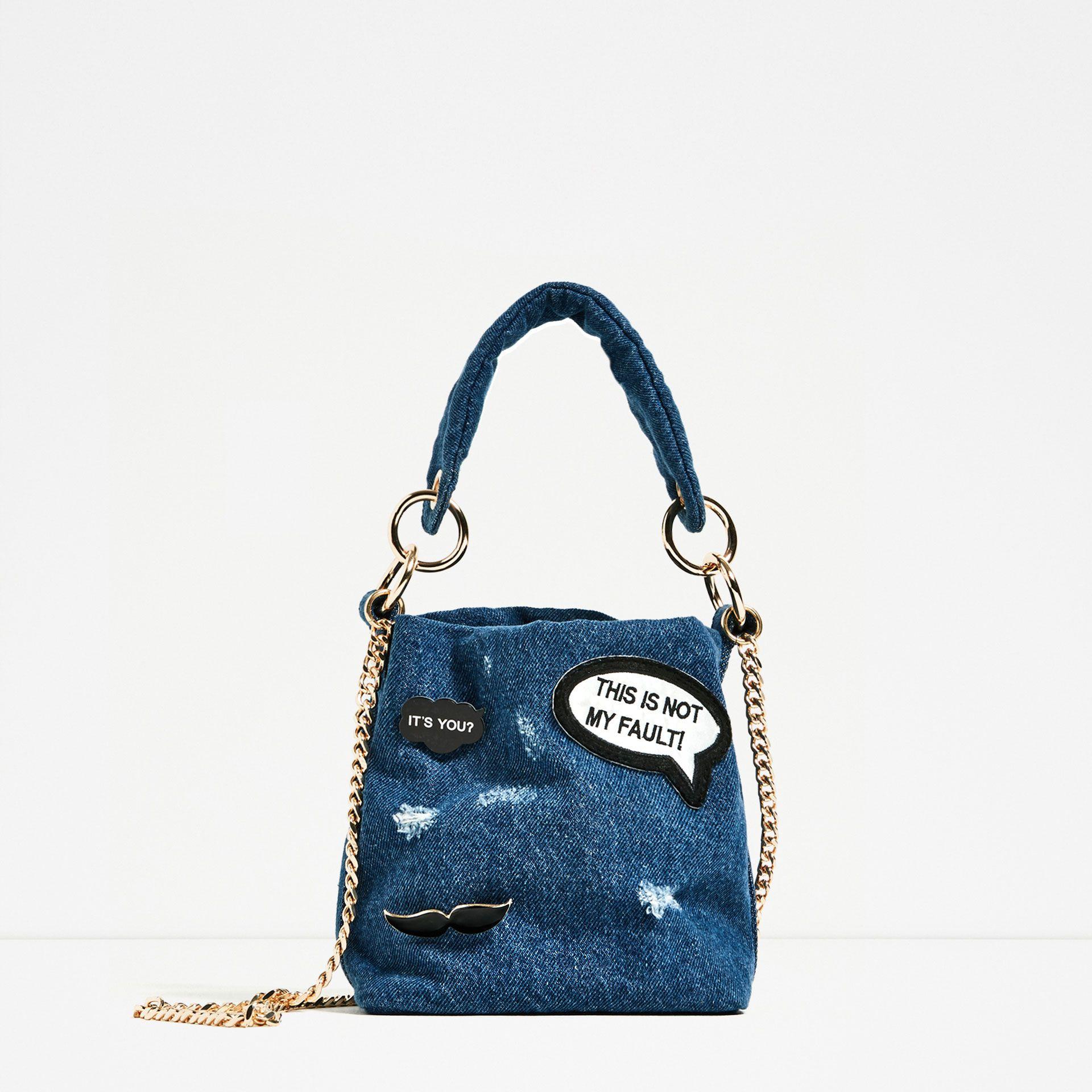 5 fantastičnih torbica sa trendy zakrpama i naljepnicama