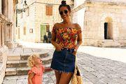 Sva lica traper minice: Naša lijepa blogerica nosi ju na bezbroj cool načina