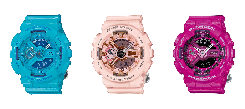 Šarene boje G-Shock satova