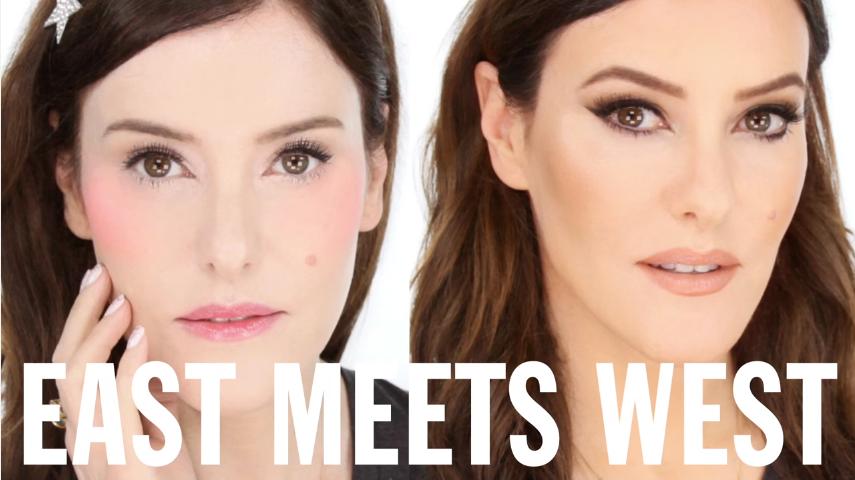 Beauty tutorial: zapad susreće istok