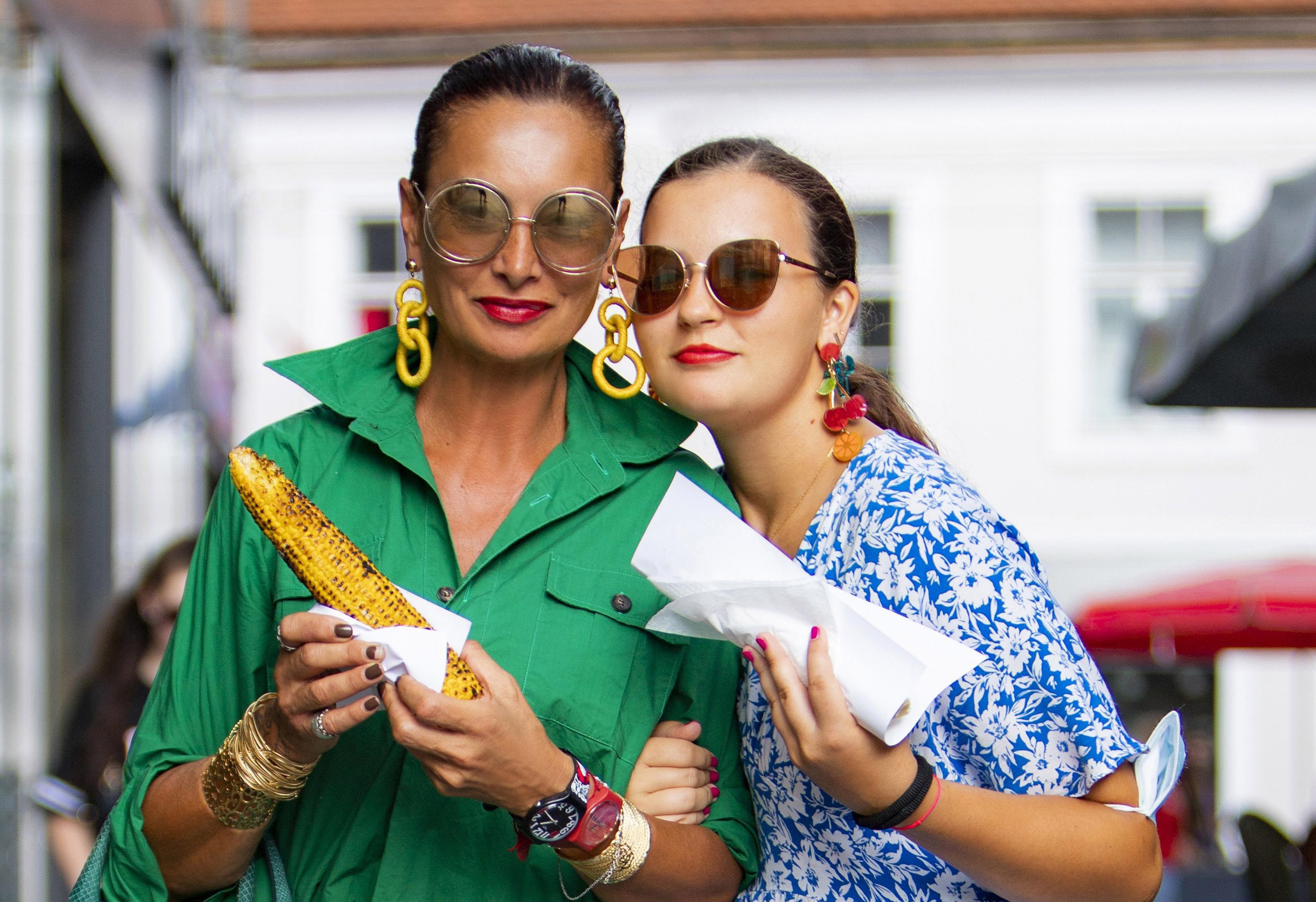Leonarda Lončar i kći Marta najstajliš su prizor sa špice: 'Nastojimo biti odjevene u skladu s trenutkom gdje se krećemo'