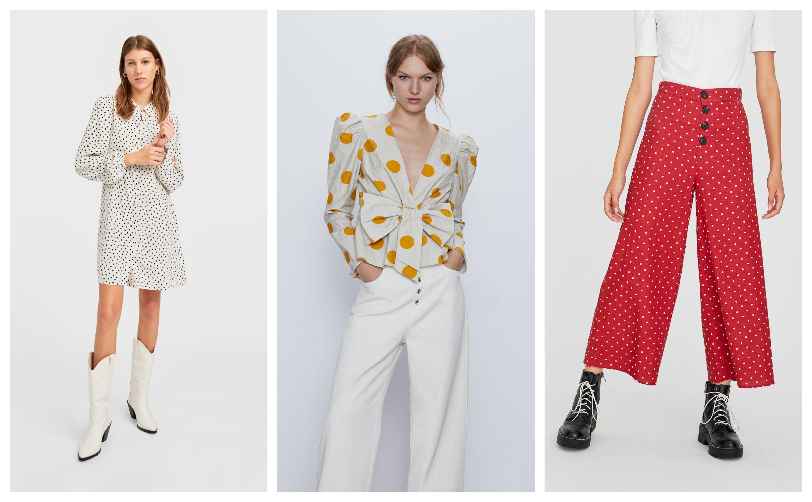 Haljine, bluze, hlače... Nove kolekcije u high street dućanima donose točkice na mnogo načina