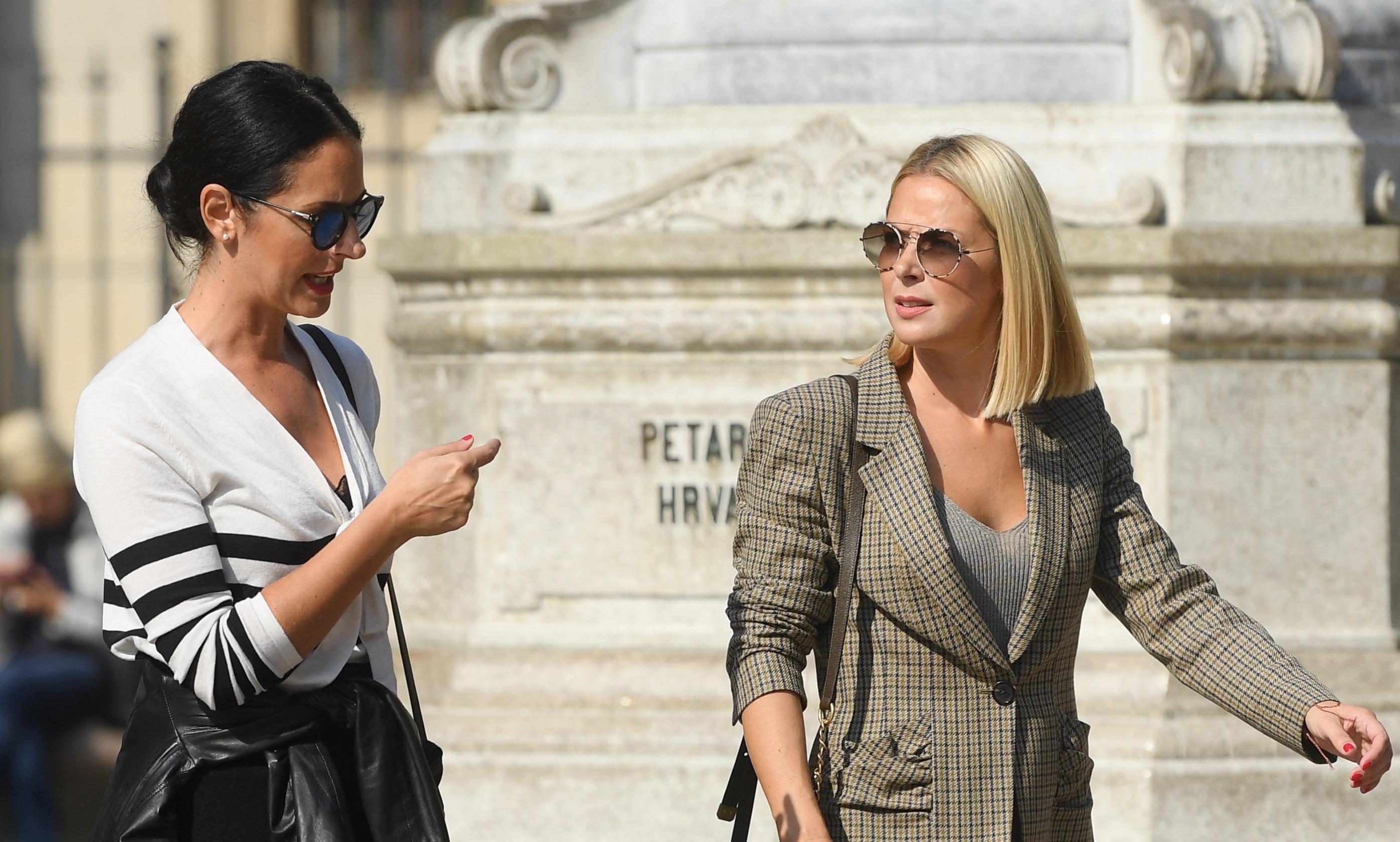 Wow! Ove dvije frendice izgledaju kao da su na modnoj pisti, a ne u centru Zagreba