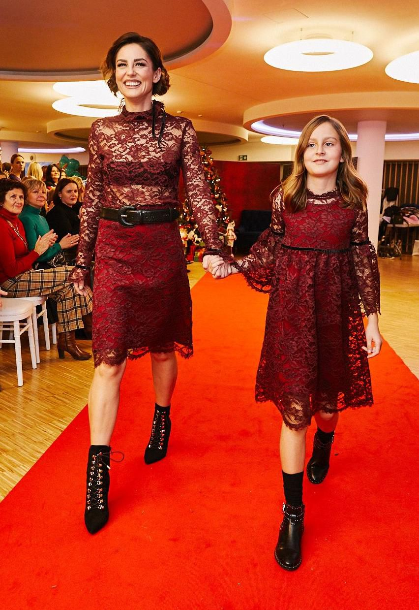 Modno se uskladile: Antonija Stupar Jurkin i kći Paola najslađi su prizor koji ćete danas vidjeti