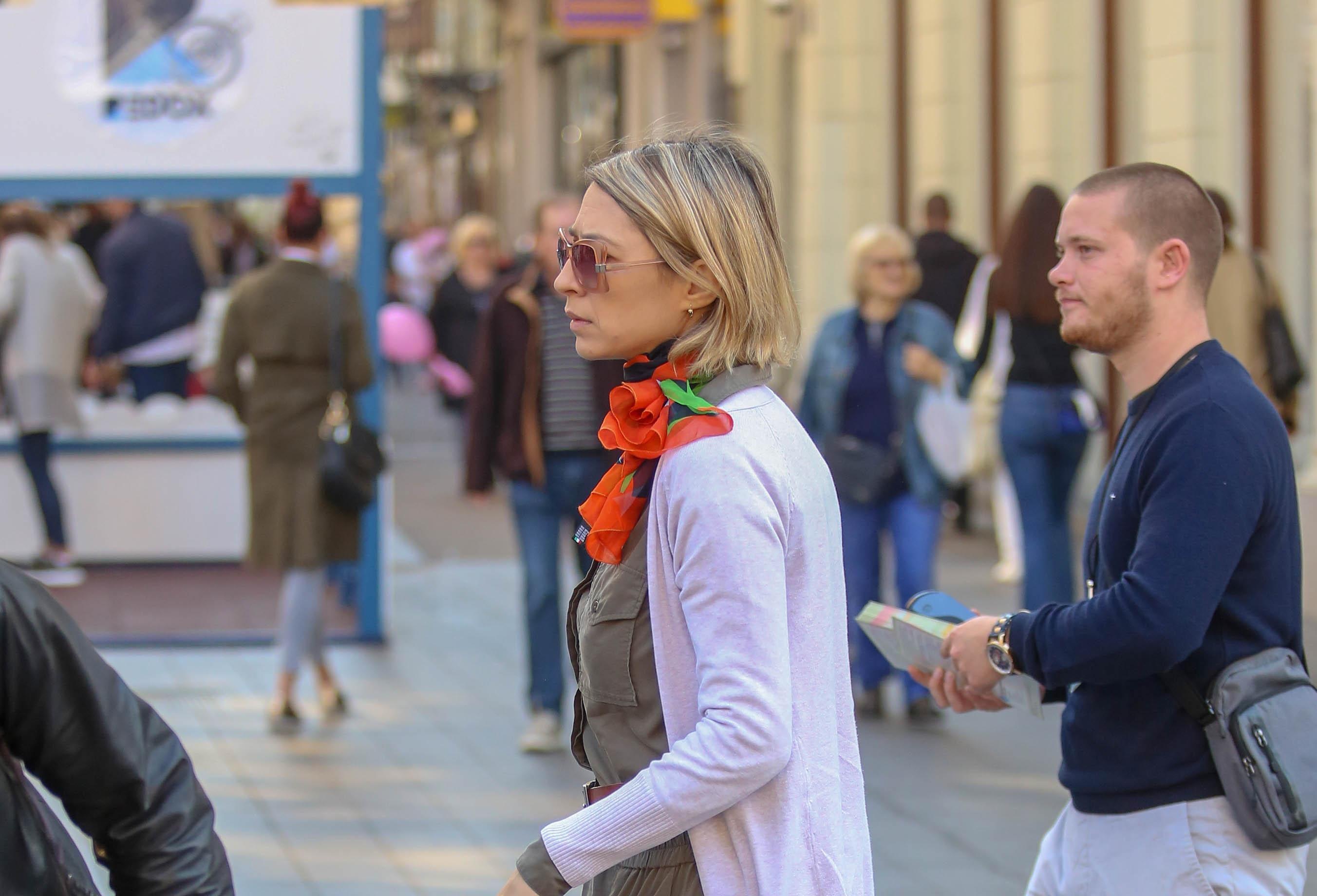 S najpopularnijim uzorkom: Cipele ove divne dame sa zagrebačke špice najbolji su dio stylinga!