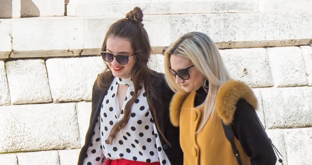 Ako ne znate što nositi u nadolazećoj sezoni, pogledajte ove dvije ljepotice iz Dubrovnika - nose sve trendove!