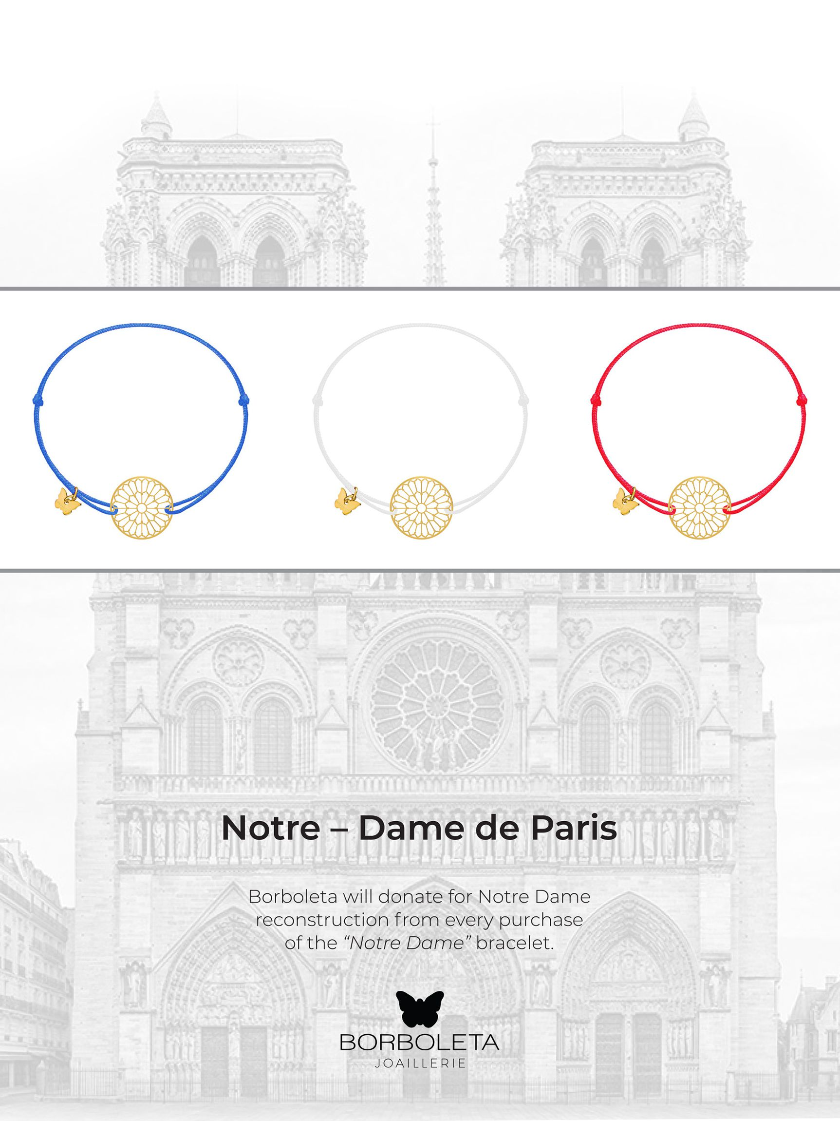 Borboleta narukvice u akciji za obnovu čuvene katedrale Notre-Dame