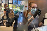 Vlasnici salona nakon prvog dana: Negdje se na termin čeka i mjesec dana, a klijenti se većinom drže novih mjera