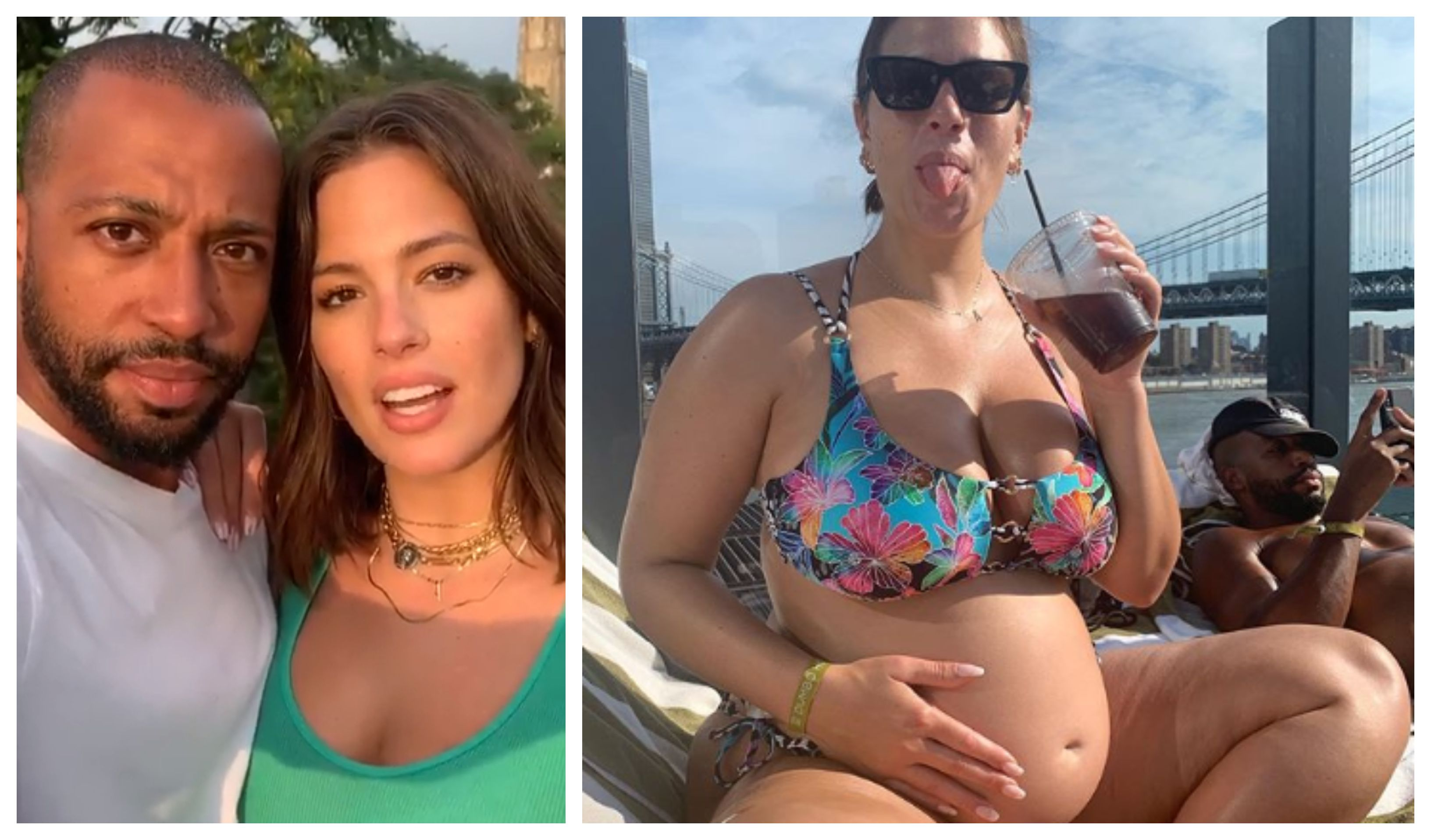 Plus size model Ashley Graham je najkul trudnica ikada!